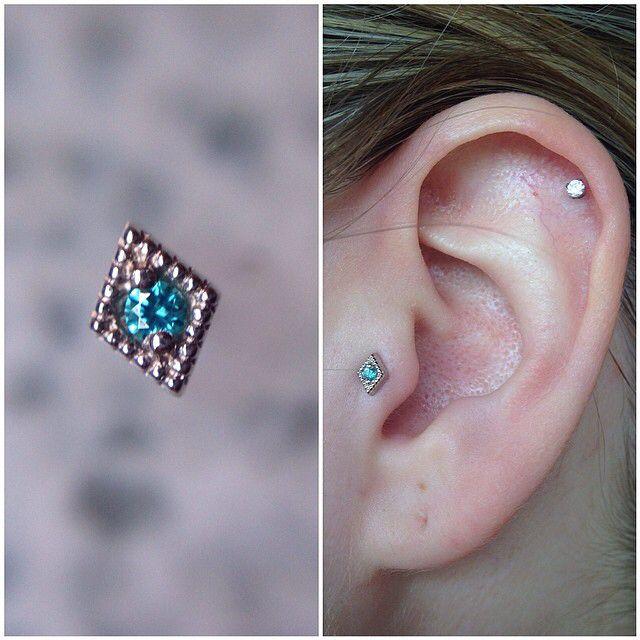 Diamond Tragus Jewelry