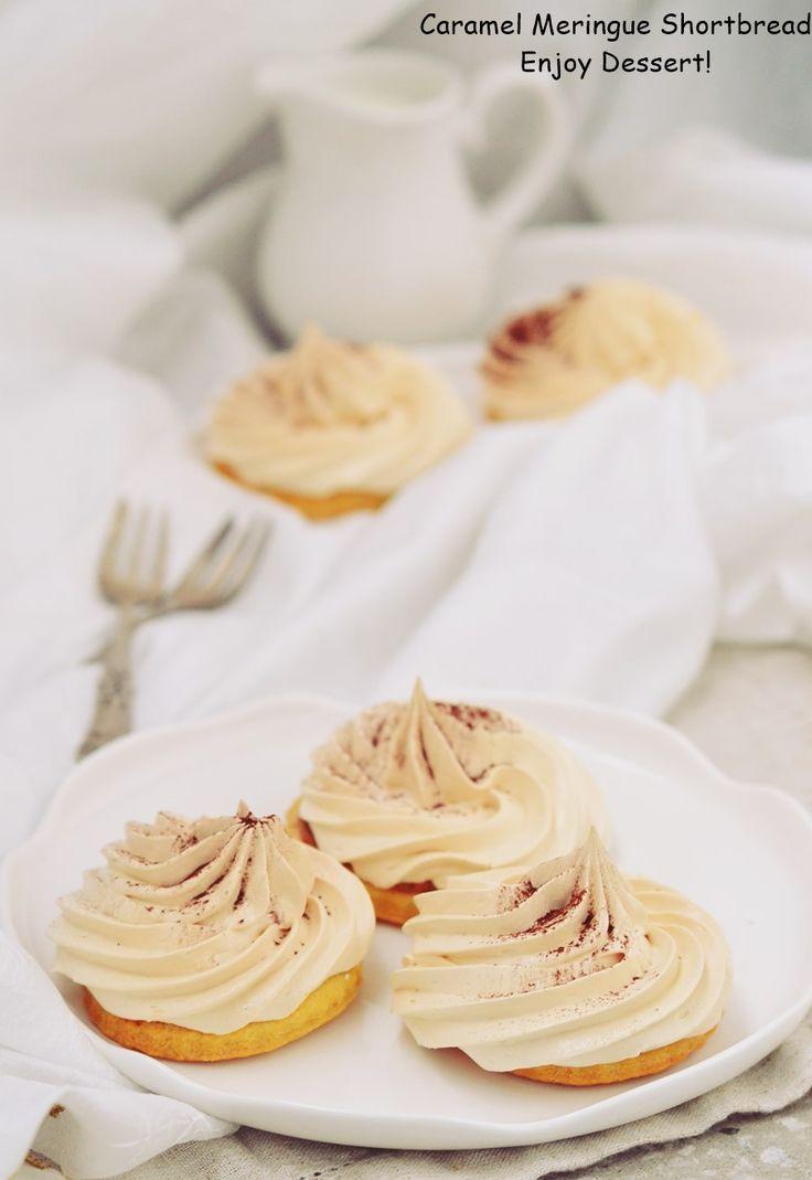 Caramel Meringue Shortbread