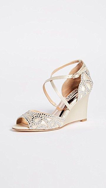 BADGLEY MISCHKA | Winter Wedge Sandals #Shoes #BADGLEY MISCHKA