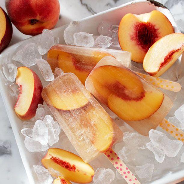 popsicles pop pop popsicles peach popsicles peach iced ginger peach ...