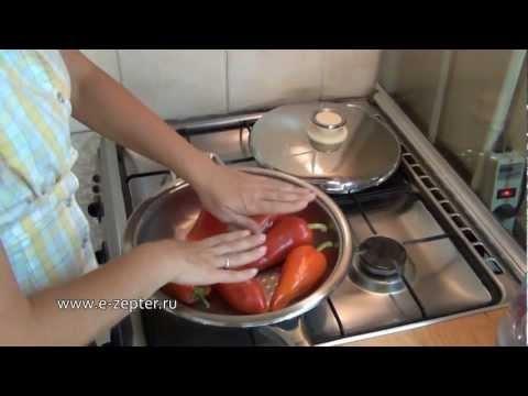 Жареный сладкий перец - видео рецепт  Закуски от Цептер (Zepter)