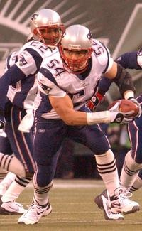 Tedy Bruschi, formerly of the New England Patriots