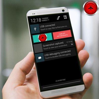 Aplikasi Smartphone Pengusir Nyamuk