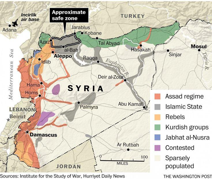 U.S.-Turkey deal aims to create de facto 'safe zone' in northwest Syria - The Washington Post