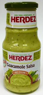 Herdez Guacamole Salsa Med $4.95