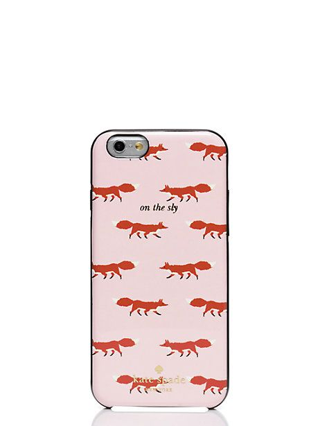 "Kate Spade ""On the Sly"" iPhone 6 case"