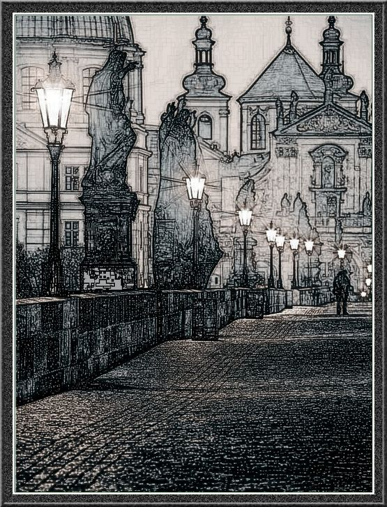 Karlův most. Foto pražského fotografa pana Jiřího Píši https://www.facebook.com/prazskyfotograf/photos/a.153016328235700.1073741832.150308411839825/494386474098682/?type=3&theater