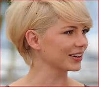 michelle williams short hair from back - Bing Images