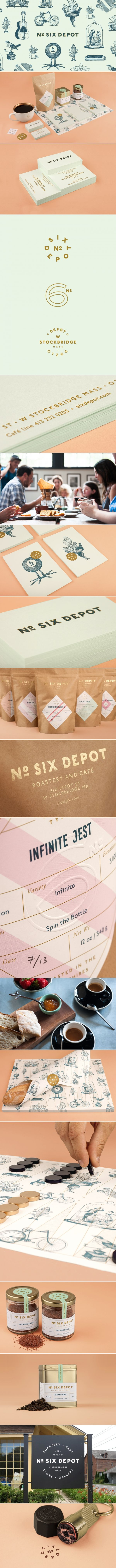 No. Six Depot Coffee Roaster & Cafe | Perky Bros.