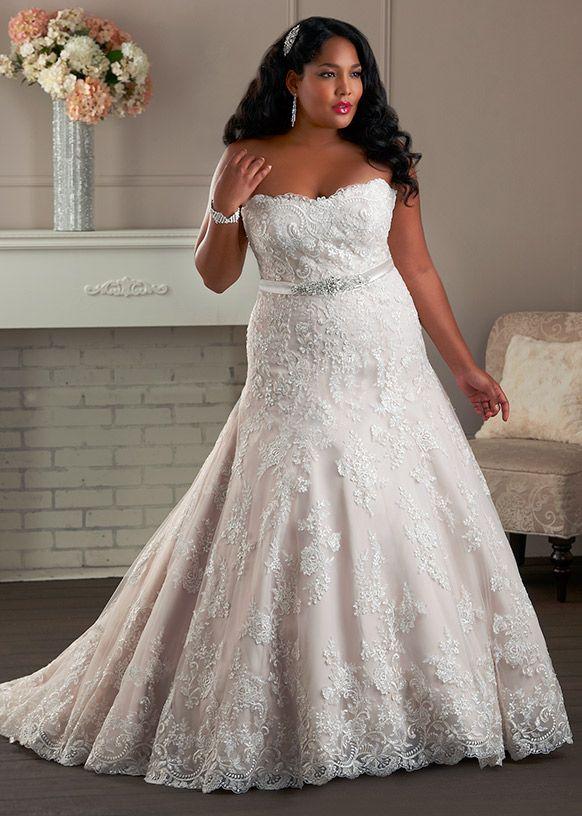 257 best Plus Size {Wedding Dresses} images on Pinterest