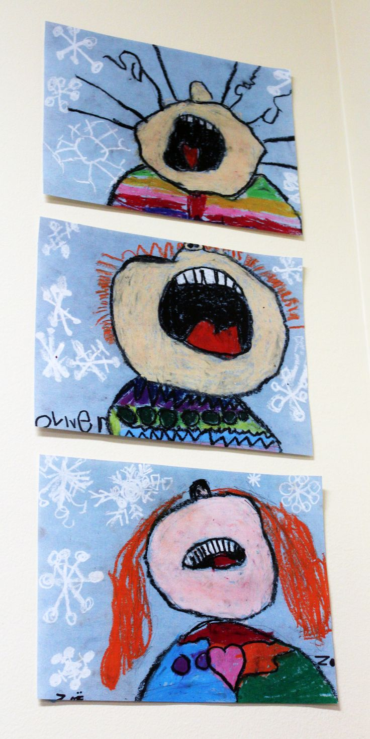 Three different artists created these wonderful pieces.