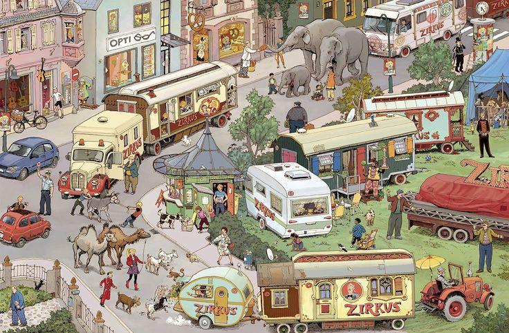 Praatplaat circus voor kleuters BORD CIRCUS OP http://www.pinterest.com/kleuterpret/circus/