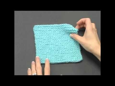 How to Knook: Garter Stitch (Right Handed)