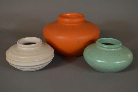 PP-PPK, 3 vases signed N.G. (Nora Gulbrandsen)