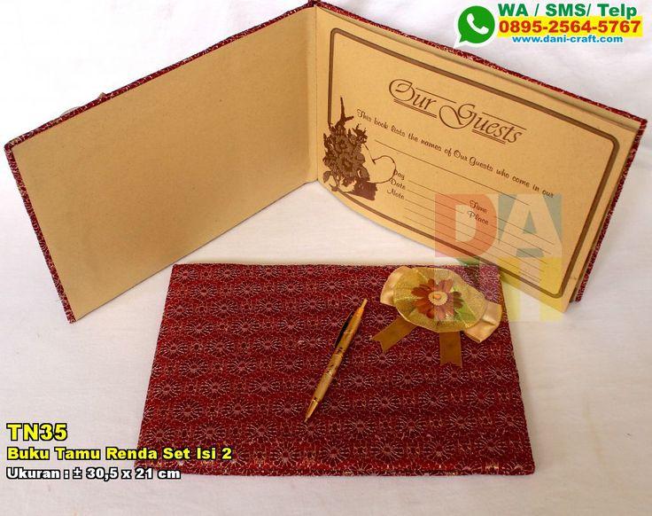 Buku Tamu Renda Set Isi 2 WA/SMS/Telp : 082324687800 Pin BBM : 5D1A4BF2  #BukuTamu #TokoTamu #undanganPernikahan #souvenirPernikahan