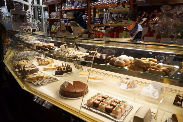 Delicious cakes at the Fürst Coffee Shop