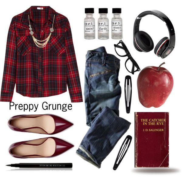 Preppy Grunge