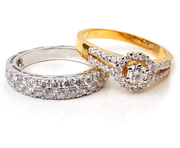 Trendy Buy kt White u yellow gold diamond rings at wholesale Price