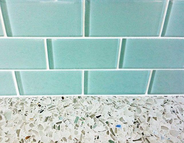 25 best ideas about blue glass tile on pinterest beach