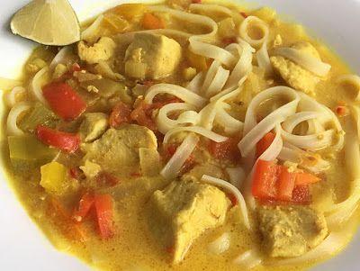 Kuchcik gotuje: Zupa tajska z kurczakiem