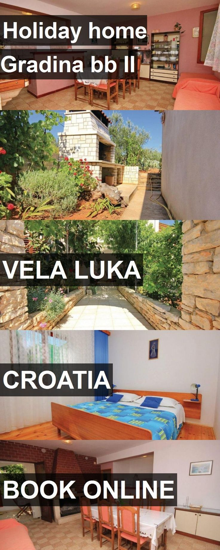 Hotel Holiday home Gradina bb II in Vela Luka, Croatia. For more information, photos, reviews and best prices please follow the link. #Croatia #VelaLuka #travel #vacation #hotel
