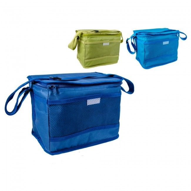 Keep your drinks and snacks cool on the go with this Insulated Cooler Bag. Featuring a convenient mesh pocket, zip closure and adjustable carrying strap, you'll be ready for the beach, a picnic or an afternoon watching the kids play in the park.
