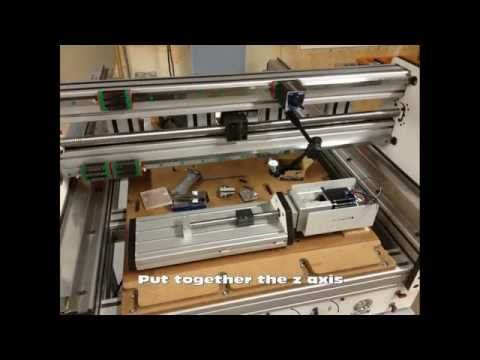 Second DIY CnC Router Part-3 - YouTube