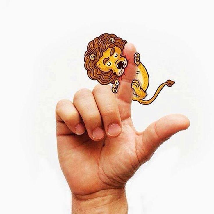 L for lion