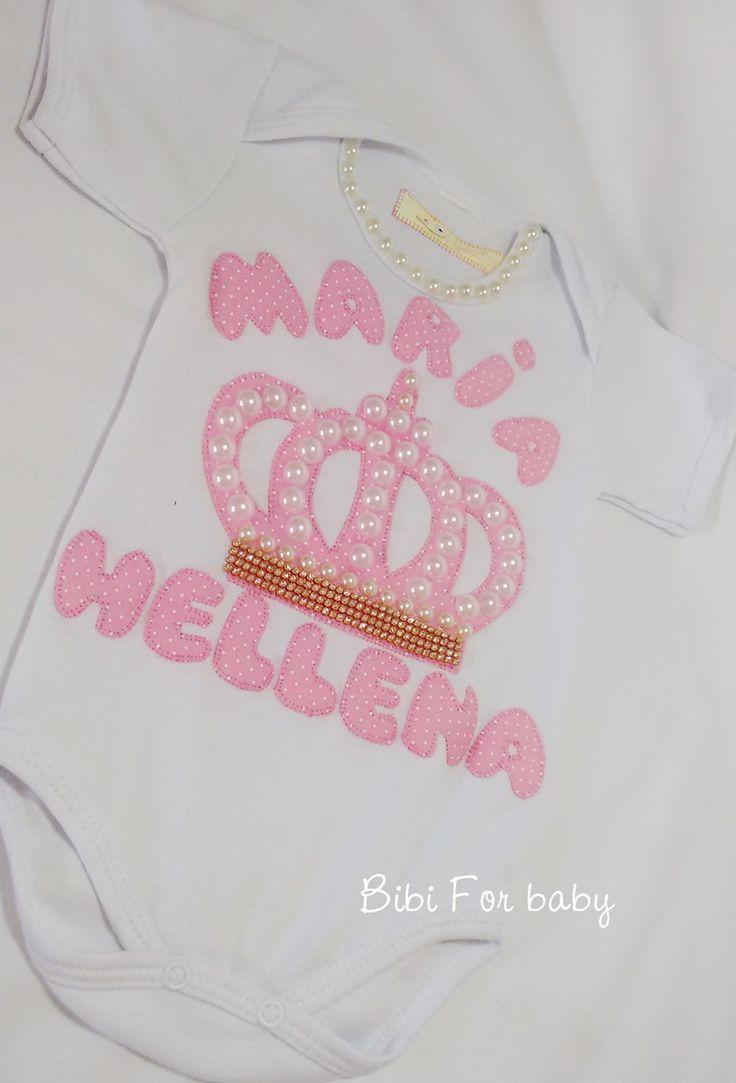 47 Best Ropa Bb Images On Pinterest Kid Outfits Babies Clothes Mom N Bab Blouse Emily Pink Size 6t Body Personalizado Princesinha Trabalho Artesanal E Com Aplicaes Em Prolas Stras Fazemos