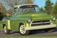 Lingenfelter builds a '55 Chevy Pickup - on 2006 Chassis & Powertrain