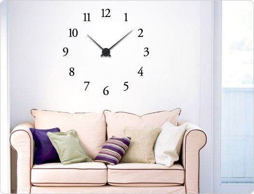 21 best Wandtattoo Uhren images on Pinterest Wall clocks - wandtattoo küche kaffee