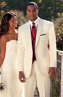 Will your groom wear white with you? Go to www.RochesterBride.com if you are bride in the Rochester, NY area looking for info & ideas for your wedding.