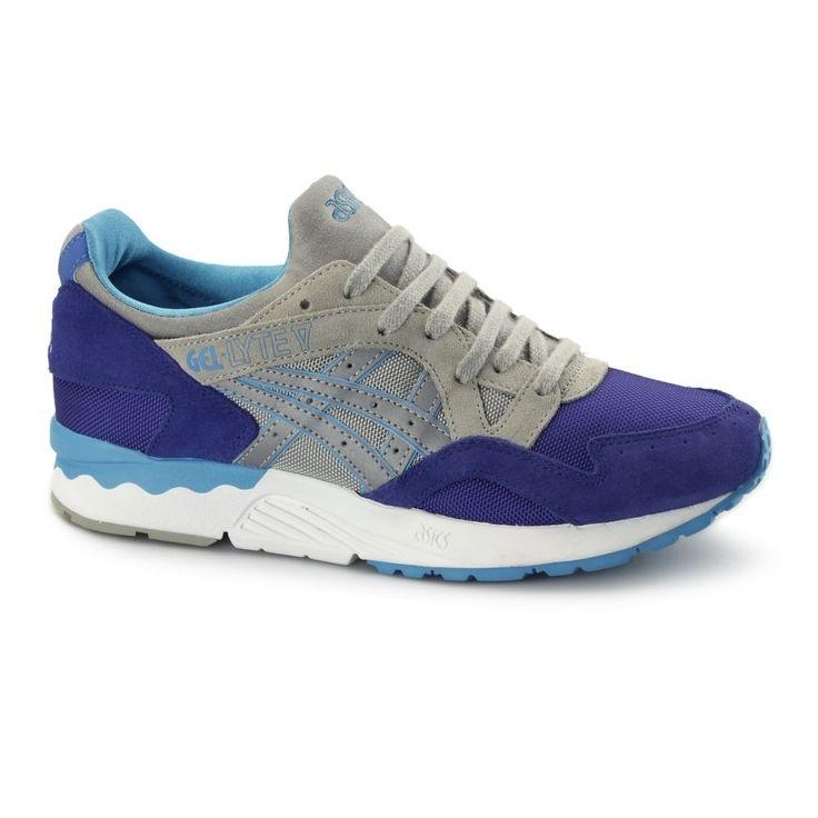 Asics Gel Lyte V Herren Retro 90 Laufende Trainer Schuhe Dunkel Blau/Licht Grau in Kleidung & Accessoires, Herrenschuhe, Turnschuhe & Sneaker | eBay