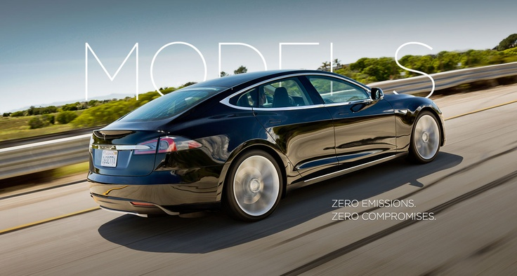 Model S | Tesla Motors  300 miles max per charge, say no more to pumping @ the gas station