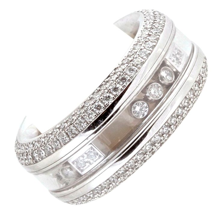 chopard happy diamond white gold ring