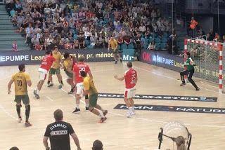 Blog Esportivo do Suíço: Brasil empata com Dinamarca no handebol masculino