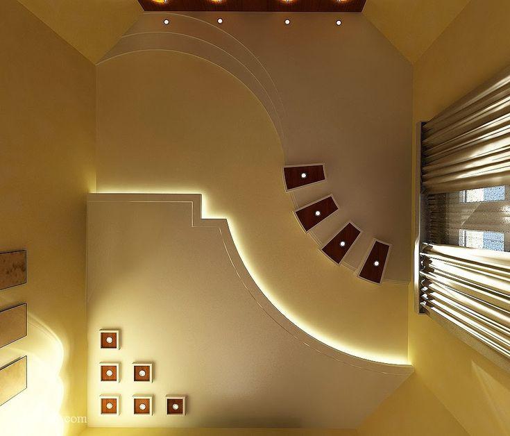 Best Ceiling Images On Pinterest False Ceiling Design False - Ceiling design with spot light for living room pop false ceiling
