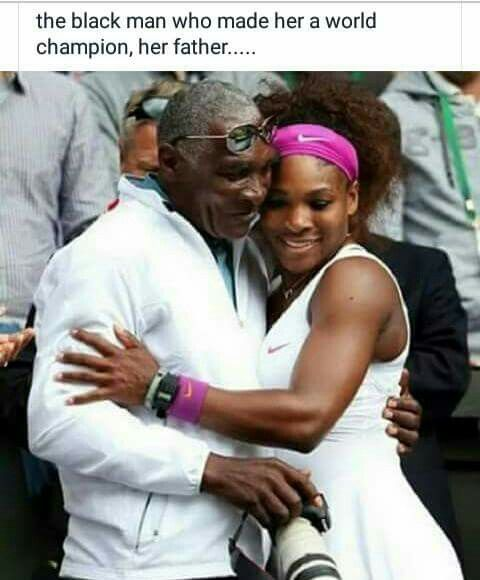 And people thought he was crazy for professing at early ages Greatness for both his Daughters, but especially Serena