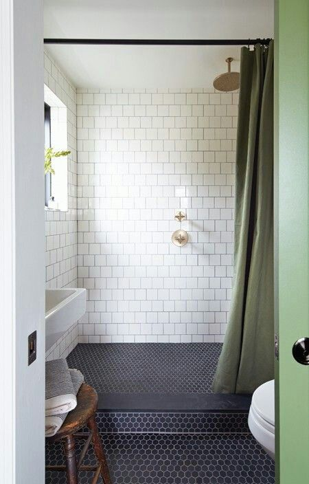 Bathroom - shower with window