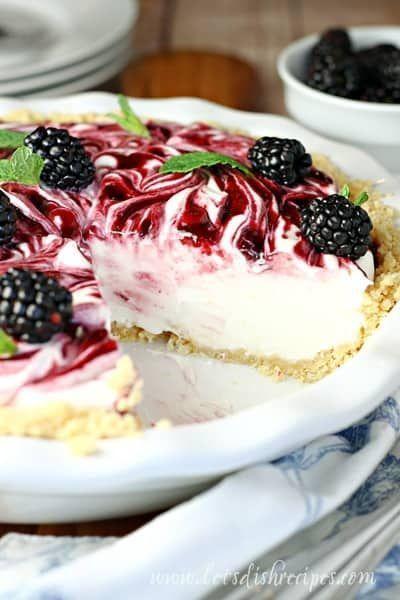 Blackberry Lemonade Pie