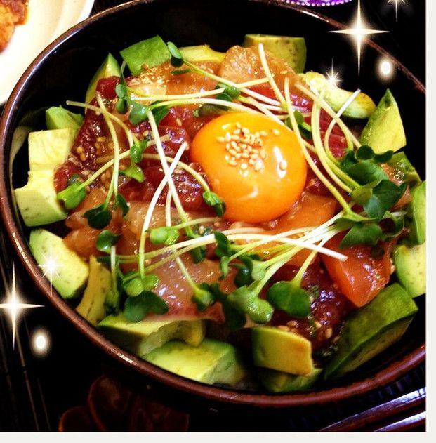簡単漬けるだけ!食べ応え&旨みたっぷり漬け丼レシピ♡11選 - Locari ... アボカド&マグロのカフェ丼