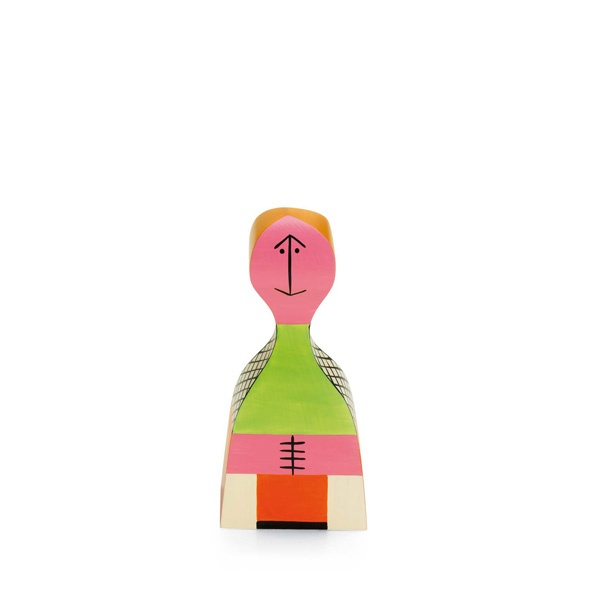 WOODEN DOLL NO19 BY ALEXANDER GIRARD