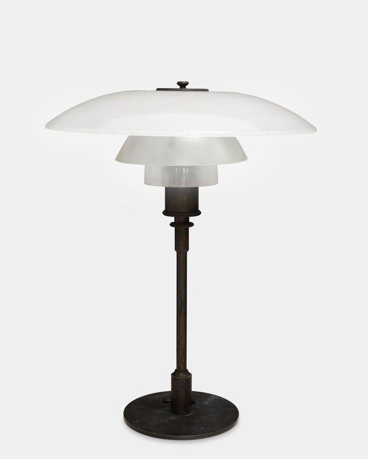 Table lamp. PAT. APPL. by Poul Henningsen