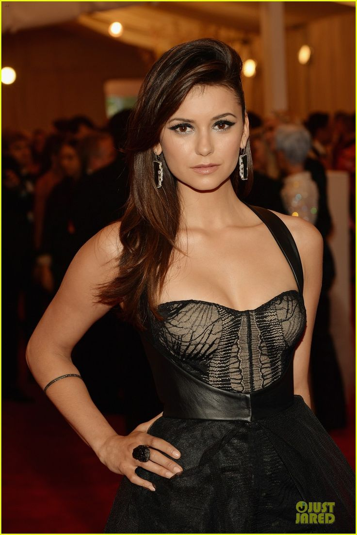 Nina Dobrev is the lady in black at the 2013 Met Gala held at the Metropolitan Museum of Art on Monday (May 6) in New York City.    The day before, the 24-year-old…