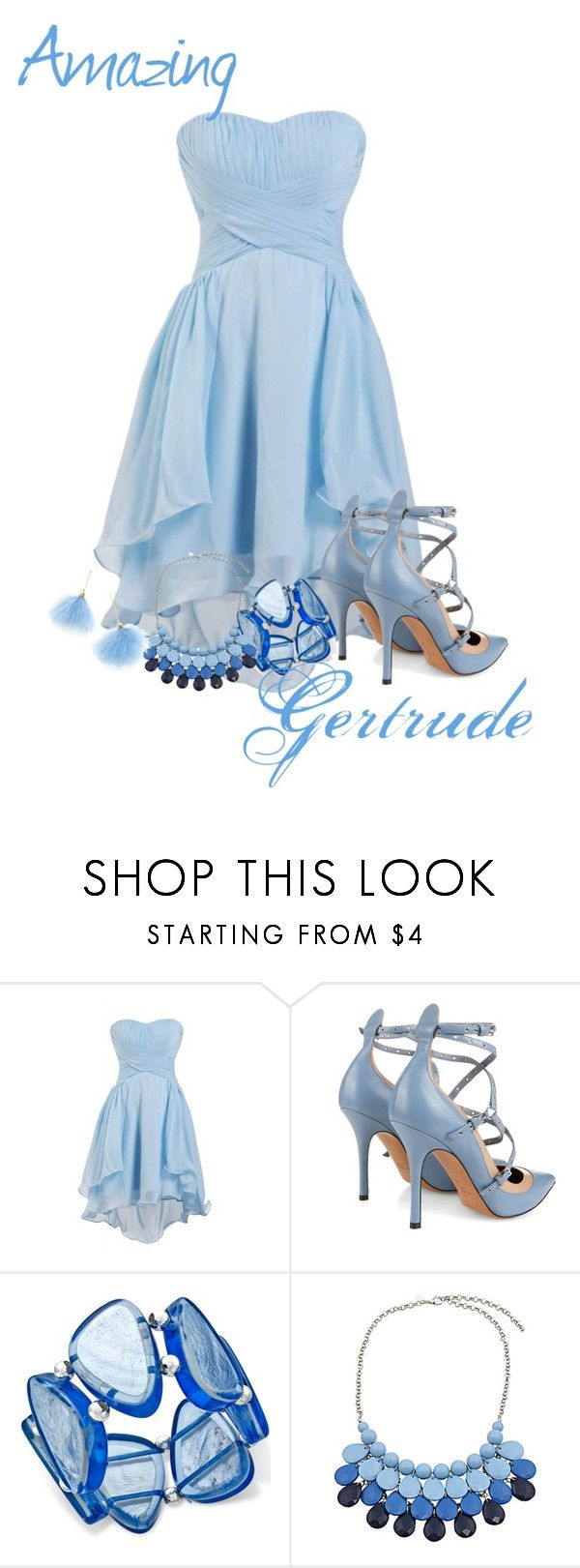 """Amazing Gertrude ~ Seussical the Musical"" by ava-adams123 ❤ liked on Polyvore featuring moda, Valentino, Style & Co. e Chicnova Fashion"