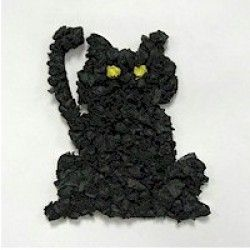 crafts Tissue Paper Black Cat
