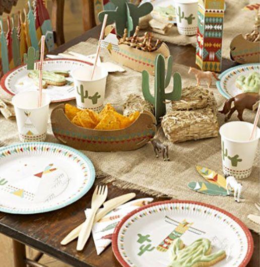Pensando en una Fiesta de Indios para el peque de la casa? Aquí tienes una colección con un diseño súper original, con unos  bonitos colores y perfecta para la decoración de su fiestas de cumpleaños!! #fiestadeindios #fiestadecumpleaños #decoracionfiestadeindios