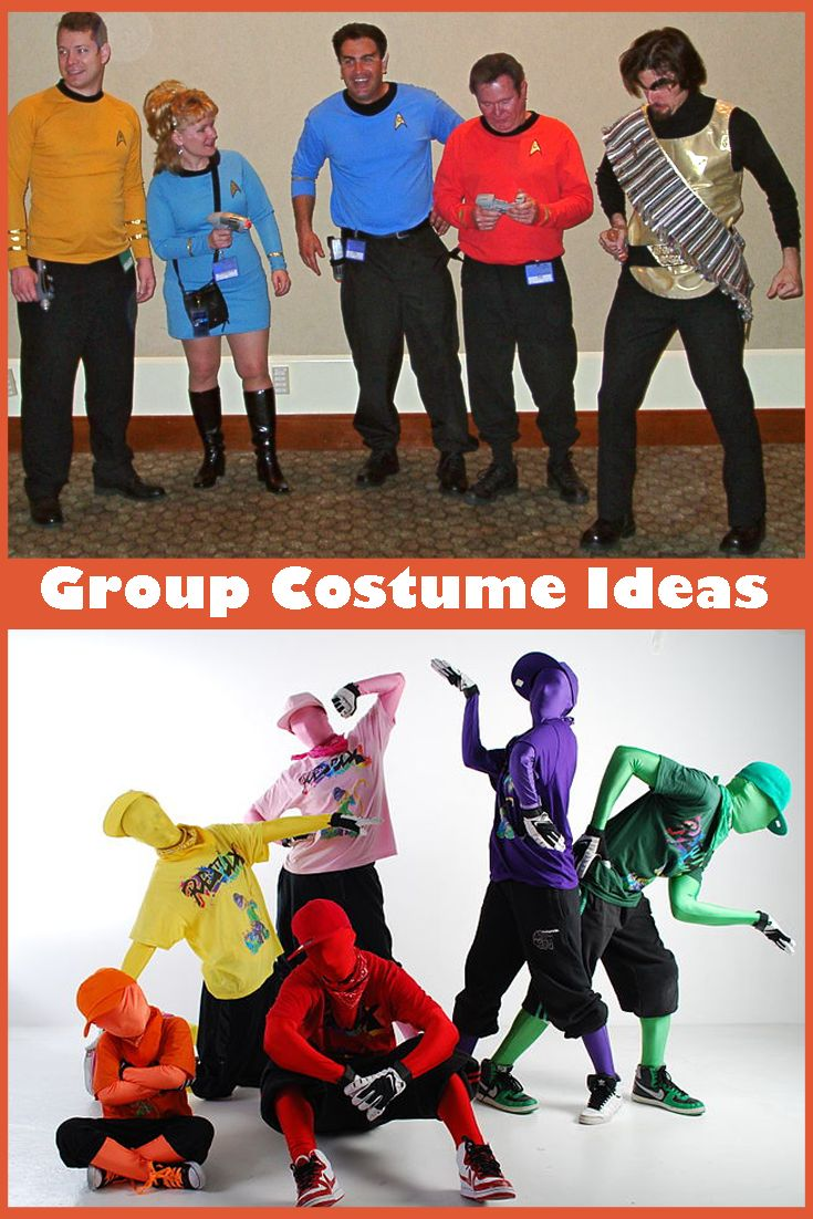 The big list of group costume ideas