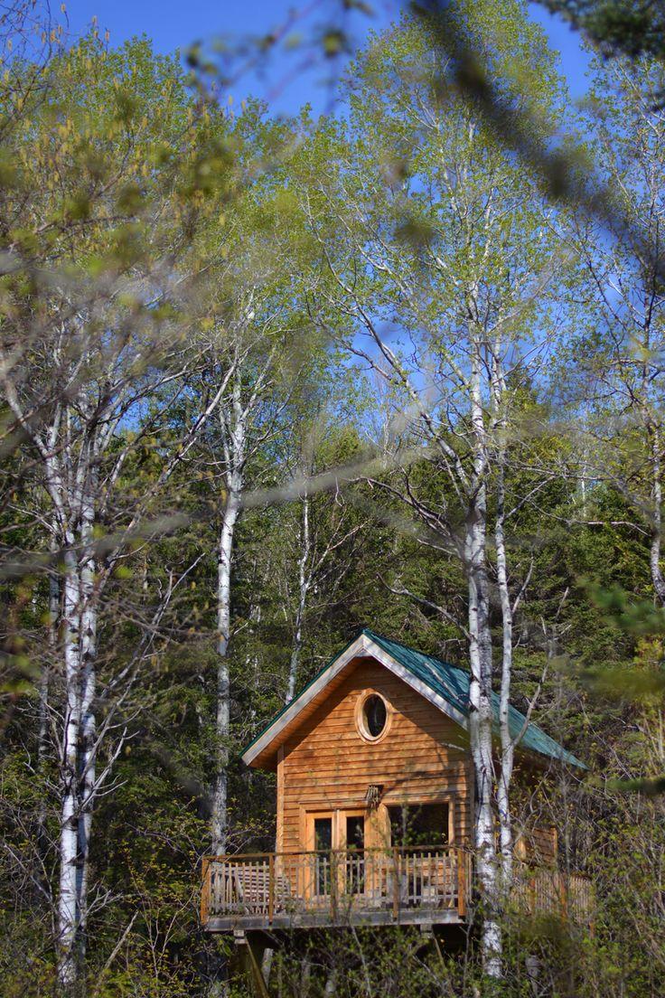 Cabane perchée de Canopée Lit MaraguxValletPhotographies