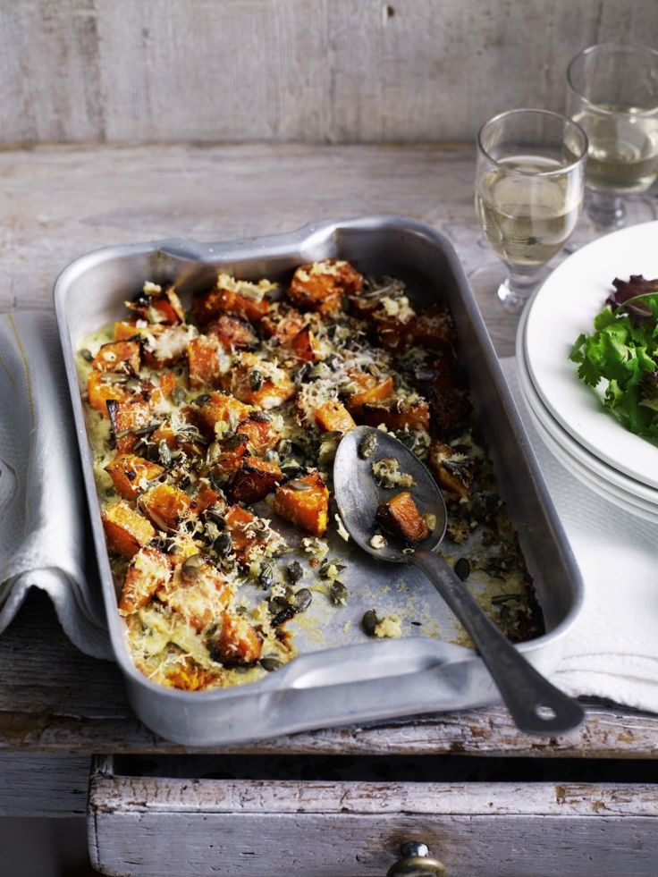 Baked Pumpkin Gratin eat simply and well this Autumn